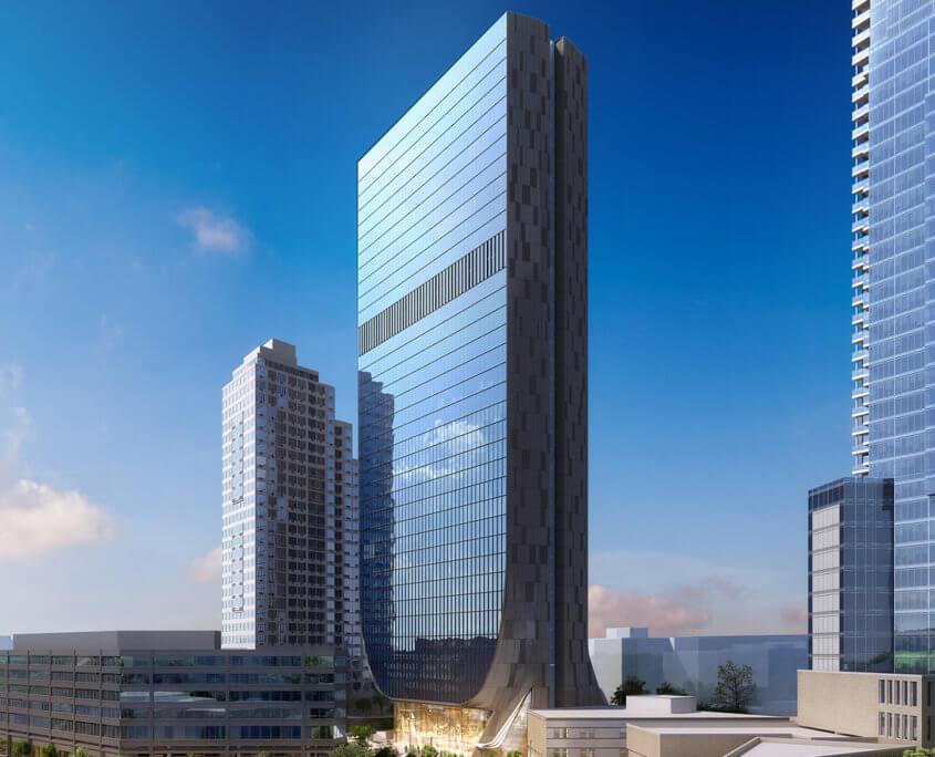 Digital Exterior Building Architectural Renderings