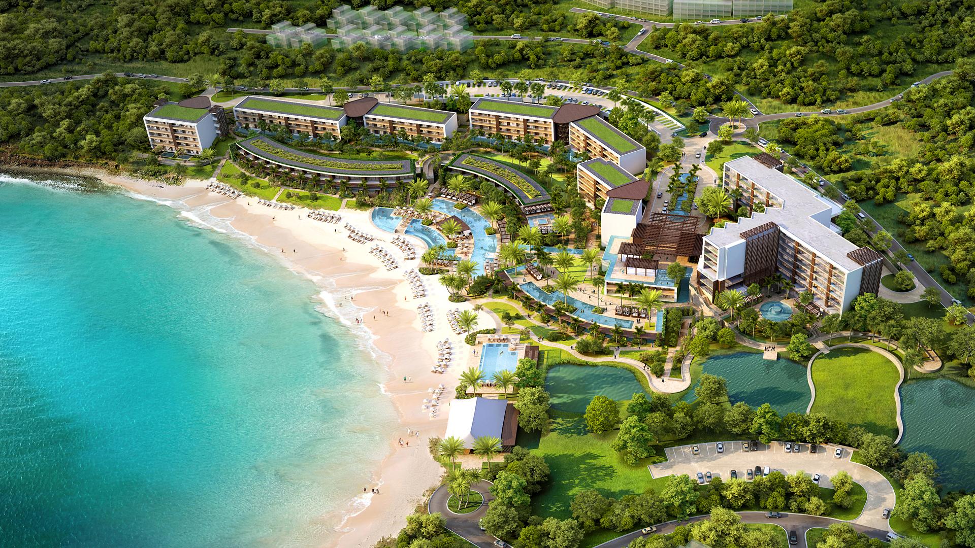Indigo Bay Aerial View
