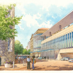 017 - Architectural Renderings - Watercolor - Cooper Carry