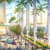 020 - Watercolor Renderings - Island Gardens in Miami