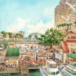 023 - Watercolor Renderings - HHCP Architects