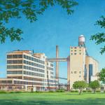 043 - Watercolor Renderings - Kankakee Community College