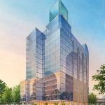047 - Architectural Watercolor Rendering - HKS Architects
