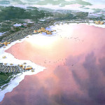 008 - Resort Watercolor Architectural Rendering - Civic Arts