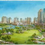2 - Conceptual Architectural Rendering - Al Waseel