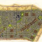 10 - Watercolor Site Plan Rendering - International City