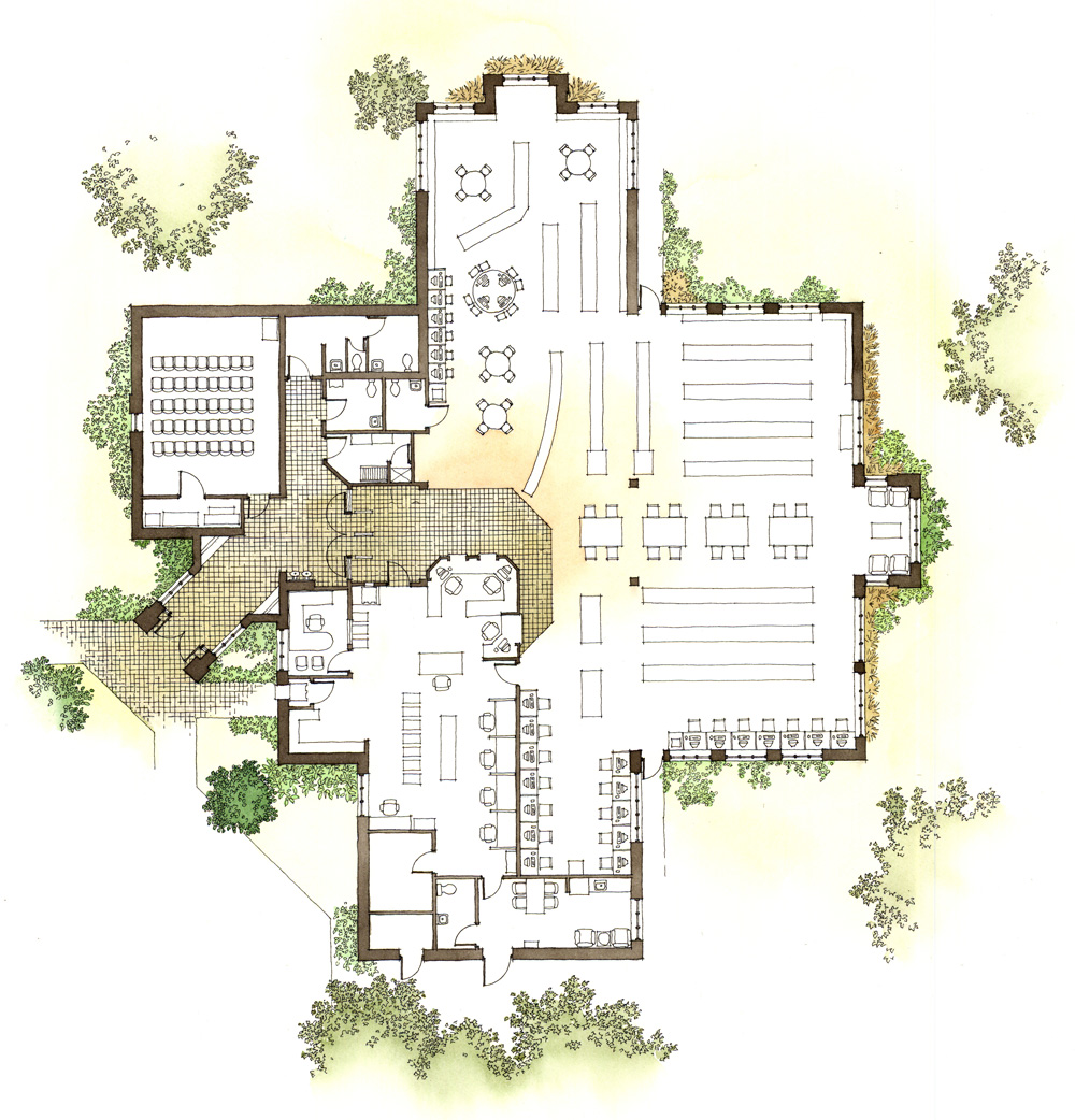 Site plan renderings genesis studios inc Architectural floor plans