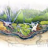 15 - Watercolor Site Plan Rendering - Centex Destination Properties