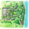 21 - Architectural Rendering - Watercolor Site Plan - Starwood Vacation Ownership