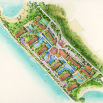 23 - Watercolor Site Plan Rendering - Marriott Vacation Club International