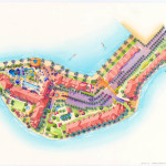 24 - Architectural Renderings - Watercolor Site Plan - Marriott Vacation Club International