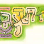 27 - Architectural Rendering - Watercolor Site Plan - Centex Destination Properties