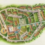 29 - Watercolor Site Plan Rendering - Marriott Vacation International