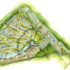 30 - Watercolor Site Plan Rendering - Kolter Communities