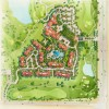32 - Watercolor Site Plan Rendering - Starwood Resorts