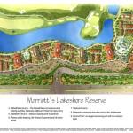 8 - Watercolor Site Plan Rendering - Marriott Vacation Club