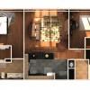 14 - Digital Cutaway Rendered Floor Plan - CGHJ Architects