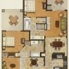 3 - Watercolor Floor Plan Rendering - Starwood Resorts