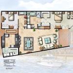6 - Digital Floor Plan Rendering - Ginn Co