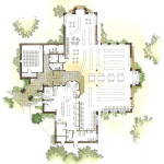8 - Illustrated Floor Plan Rendering - Scalisi Architects