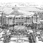 40 - Pen and Link Architectural Rendering - Gaylord Palms