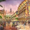 9 - Watercolor Architectural Renderings - Global Village Dubai