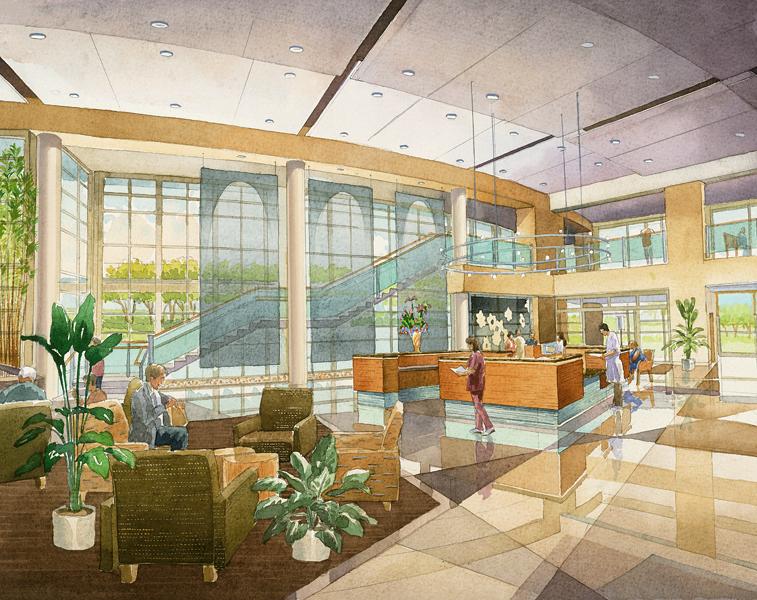 Architectural Illustrationss By Genesis Studios Digital