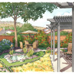 38-watercolor-rendering-courtyard-genesis-studios