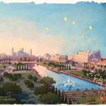 18 - Loose Watercolor Architectural Rendering - Limitless, Dubai