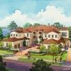 23 - Loose Watercolor Architectural Rendering - Lake Nona