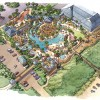 28 - Pen and Ink Watercolor Architectural Rendering - Centex Destination Resorts