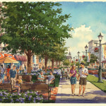 30 - Loose Watercolor Architectural Rendering - ACI Architects