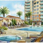 9 - Loose Watercolor Architectural Renderings - Dan Draper Architect