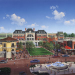 15 - Opaque Architectural Rendering - Dorksy, Hodgson, Parish, Yue, & Partners