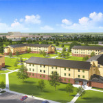 7 - Architectural Rendering - Opaque - Correctional Facility